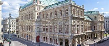 Η κρατική όπερα της Βιέννης Στοκ εικόνα με δικαίωμα ελεύθερης χρήσης