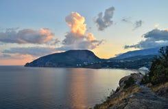 Η Κριμαία, αντέχει το βουνό Στοκ Φωτογραφίες