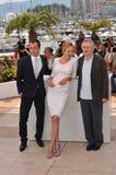 Η κριτική επιτροπή, Jude Law, Robert De Niro, Ούμα Θέρμαν Στοκ Εικόνες
