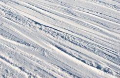 η κρούστα 2 υπογραμμίζει την παγωμένη σύσταση επιφάνειας φωτός του ήλιου χιονιού προτύπων λιμνών φυσική λεπτά Στοκ Εικόνες