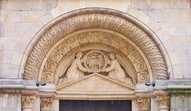 Η κρυμμένη εκκλησία πολύτιμων λίθων, Μάντσεστερ Στοκ εικόνα με δικαίωμα ελεύθερης χρήσης