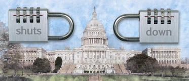 Η κυβέρνηση διακόπτει στοκ φωτογραφίες με δικαίωμα ελεύθερης χρήσης
