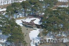 Η κυβερνητική αίθουσα της Δημοκρατίας Ezo στο Hakodate, Hokkaido Στοκ Φωτογραφία