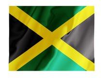 η κυματίζοντας Τζαμάικα Στοκ εικόνα με δικαίωμα ελεύθερης χρήσης