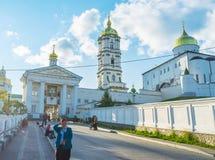 Η κυρία είσοδος σε Pochayiv Lavra Στοκ εικόνες με δικαίωμα ελεύθερης χρήσης