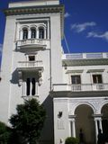 Η κυρία είσοδος στο παλάτι Livadia Στοκ εικόνα με δικαίωμα ελεύθερης χρήσης
