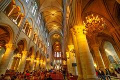 Η κυρία μας εκκλησίας του Παρισιού Στοκ φωτογραφία με δικαίωμα ελεύθερης χρήσης