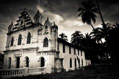 Η κυρία μας εκκλησίας Prioty, Anjuna, Goa, Ινδία Στοκ Εικόνες