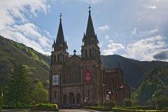 Η κυρία Covadonga μας Sanctuary, αστουρίες, Ισπανία στοκ εικόνες με δικαίωμα ελεύθερης χρήσης