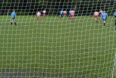 η Κυριακή ποδοσφαίρου πρωινού Στοκ Εικόνα