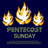 Η Κυριακή Pentecost Στοκ Εικόνες