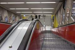 Η κυλιόμενη σκάλα Στοκ εικόνα με δικαίωμα ελεύθερης χρήσης