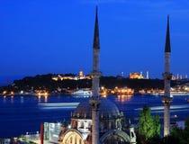 η Κωνσταντινούπολη τοπο&the Στοκ φωτογραφία με δικαίωμα ελεύθερης χρήσης