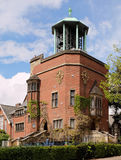 Η κωδωνοστοιχία Bournville Μπέρμιγχαμ UK στοκ φωτογραφία με δικαίωμα ελεύθερης χρήσης