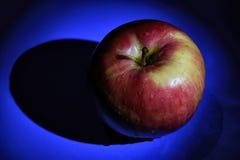 Η κόκκινες φρέσκες Apple και σκιά Στοκ Φωτογραφία