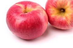 Η κόκκινη κίτρινη Apple Στοκ Εικόνα