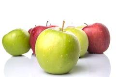 Η κόκκινη και πράσινη Apple IV Στοκ φωτογραφία με δικαίωμα ελεύθερης χρήσης