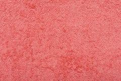 Η κόκκινη πετσέτα υφασμάτων Στοκ εικόνες με δικαίωμα ελεύθερης χρήσης