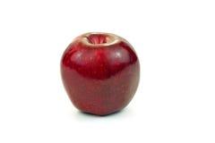 Η κόκκινη φρέσκια Apple στο άσπρο υπόβαθρο Στοκ φωτογραφία με δικαίωμα ελεύθερης χρήσης