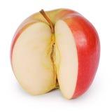 Η κόκκινη Apple (πορεία ψαλιδίσματος) Στοκ φωτογραφία με δικαίωμα ελεύθερης χρήσης