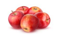 Η κόκκινη Apple που απομονώνεται στο άσπρο υπόβαθρο με τη σκιά Στοκ φωτογραφίες με δικαίωμα ελεύθερης χρήσης