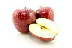 Η κόκκινη Apple Στοκ εικόνα με δικαίωμα ελεύθερης χρήσης