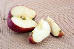 Η κόκκινη Apple Στοκ Φωτογραφίες