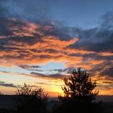 Η κόκκινη Dawn Στοκ φωτογραφία με δικαίωμα ελεύθερης χρήσης