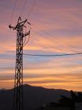 Η κόκκινη Dawn Clouds Στοκ εικόνες με δικαίωμα ελεύθερης χρήσης