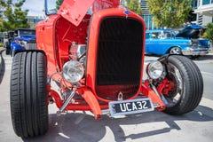 Η κόκκινη Ford hotrod Στοκ Φωτογραφία