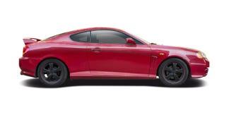 Η κόκκινη Hyundai coupe στοκ εικόνες με δικαίωμα ελεύθερης χρήσης