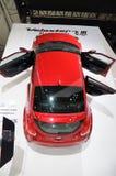 Η κόκκινη Hyundai Veloster Στοκ Εικόνες