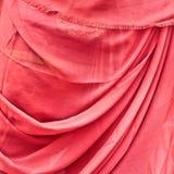 Η κόκκινη Sari στοκ φωτογραφίες
