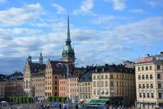 Η κύρια άποψη της Στοκχόλμης Στοκ φωτογραφία με δικαίωμα ελεύθερης χρήσης