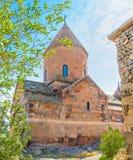 Η κύρια εκκλησία του μοναστηριού Khor Virap Στοκ Εικόνες