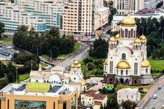 Η κύρια εκκλησία Ekaterinburg στοκ φωτογραφία