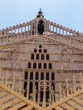 Η κύρια πρόσοψη της βασιλικής Annunciation στη Ναζαρέτ, Στοκ φωτογραφία με δικαίωμα ελεύθερης χρήσης