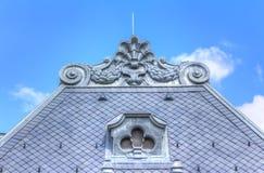 Η κύρια πρόσοψη του Arpad Spa - θερμικό λουτρό σε Szekesfehervar Στοκ Φωτογραφίες