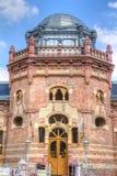 Η κύρια πρόσοψη του Arpad Spa - θερμικό λουτρό σε Szekesfehervar Στοκ φωτογραφίες με δικαίωμα ελεύθερης χρήσης