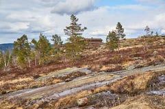Η κλίση του λόφου στο κέντρο τουριστών Στοκ εικόνες με δικαίωμα ελεύθερης χρήσης