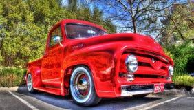 Η κλασική αμερικανική Ford παίρνει το φορτηγό Στοκ εικόνα με δικαίωμα ελεύθερης χρήσης