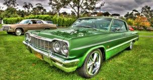 Η κλασική δεκαετία του '60 αμερικανικό Chevy Impala Στοκ φωτογραφία με δικαίωμα ελεύθερης χρήσης