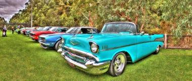 Η κλασική δεκαετία του '50 Chevy μετατρέψιμο Στοκ εικόνα με δικαίωμα ελεύθερης χρήσης