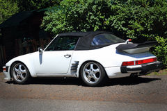 Η κλασική Porsche μετατρέψιμη Στοκ εικόνα με δικαίωμα ελεύθερης χρήσης