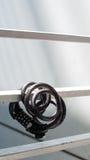 Η κλειδαριά ποδηλάτων Στοκ Εικόνες
