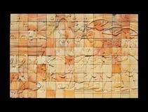 η λάρνακα αναγλύφου mangrai βα&sigm Στοκ Εικόνες