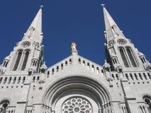Η λάρνακα και καθεδρικός ναός Ste Anne de Beaupre Στοκ Φωτογραφίες