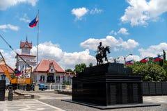 Η λάρνακα του Emilio Aguinaldo σε Kawit, Cavite, Φιλιππίνες στοκ εικόνα
