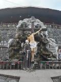 Η λάρνακα Pio Padre στοκ εικόνες