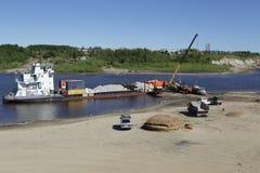 Η Λένα River Στοκ εικόνες με δικαίωμα ελεύθερης χρήσης